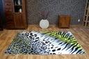 REWELACYJNY DYWAN FLASH 80x150 CĘTKI PASKI #B855 Szerokość 80 cm