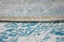 DYWAN VINTAGE 80x150 ROZETA niebieski / beż #B773 Materiał wykonania polipropylen