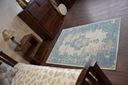 DYWAN VINTAGE 80x150 ROZETA niebieski / beż #B773 Marka Dywany Łuszczów