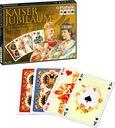 Karty do gry PIATNIK luksusowe Kaiser 2 talie