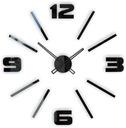современный большой, тихий naklejany часы настенный D1C