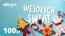 Karta Podarunkowa na Święta - 100 zł