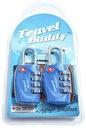 2 szt. KŁÓDKA Travel Buddy system TSA zamek 4-PIN Marka Travel Buddy