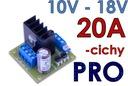 12V 20A Regulator obrotów silnika DC PWM cichy PRO Producent CAY Regulatory