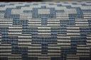 DYWAN SIZAL 120x170 ROMBY blue melanż #B342 Rodzaj płaskotkany