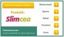 SLIMCEA - skuteczne tabletki odchudzające Postać kapsułki