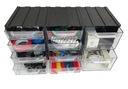 Organizer dla elektryka, 10 szufladek w obudowie Rodzaj Kuwety i organizery