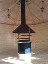 Grill z wyciągiem (okapem) każda altana lub domek