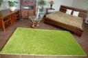 DYWAN SHAGGY 5cm zielony 40x100 gładki jednolity Kolor odcienie zieleni