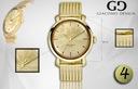 Zegarek męski Giacomo Design GD09 4 WZORY! Kształt koperty okrągła