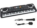Keyboard Organy Elektroniczne do Nauki Mikrofon 61