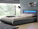 КРОВАТЬ МЯГКАЯ кровать 140х200 LED