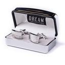 Spinki do mankietów DREAM Collection* super jakość Materiał Stal