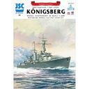 ОАО-025 - Немецкий крейсер КЕНИГСБЕРГ 1:400 доставка товаров из Польши и Allegro на русском