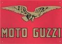Szyld blaszany Moto Guzzi 28x21