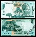 Malawi 50 KWACHA P-64b 2015 UNC