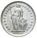 Szwajcaraia - moneta - 1/2 Franka 1948 SREBRO - 2