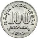 Indonezja - moneta - 100 Rupii 1973