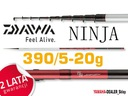 DAIWA WĘDKA NINJA LAKE TROUT 390/5-20g Sklep !