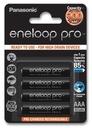 Akumulatory Panasonic Eneloop Pro R03/AAA 930mAh -