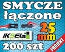 200szt Smycze reklamowe z ŁĄCZNIKIEM 25mm PROJEKT!