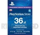 Sony PlayStation Network 36 zł
