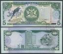 MAX - TRYNIDAD I TOBAGO 5 Dollars 2002 r. # XF+