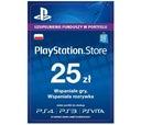 Sony PlayStation Network 25 zł