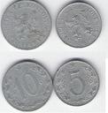 CzecHosłowacja 5 i 10 h.(1954,53)