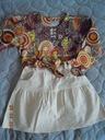 Komplet spódniczka i bluzeczka 104 - 110 cm