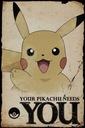 POKEMON Pikachu Needs You plakat 61x91cm /FP4348