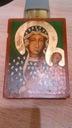 Ikona na drewnie ,ręcznie wykonana, Matka Boska