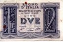 Włochy 2 Lire 1939 P-27