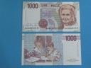 Włochy Banknot 1000 Lire 1990 ! P-114c UNC