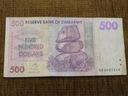 616.ZIMBABWE 500 DOLARÓW