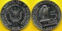 BURUNDI 5 Francs 2014 r. - Stephanoaetus coronat