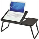 Stolik pod laptop/tablet składany czarny