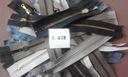 Zamki mosiężne mix od 10 cm do 19 cm 60 szt Y.678