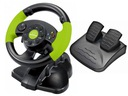 Kierownica z WIBRACJAMI +PEDAŁY PC XBOX360 PS2 PS3