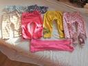 GEORGE zestaw 11 szt. spodnie rajstopy piżamki 86