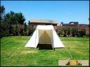 Saxony Tent - 2x4 meters - nature