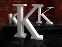 Litery 3D,styrodur,reklama litera cyfra wys 10 cm