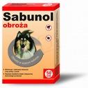 SABUNOL - szara obroża przeciw pchłom i klesz 50cm