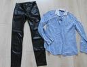 Zestaw dla nastolatki. Kurtka,bluzy,spodnie i inne