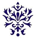 Szablon ornamentowy decoupage szablony Wzorek
