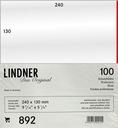 Lindner 892 -Koszulki ochronne 240x130mm (100szt)