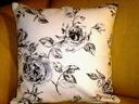 RÓŻE W SEPII-poszewka dekoracyjna na poduszkę
