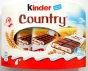 Kinder Country batoniki krem mleczny zboża 9 szt