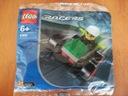 KLOCKI LEGO RACERS MIX SAMOCHODZIKZ NAPĘDEM+LUDZIK