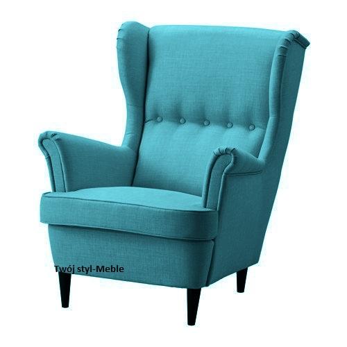Inne rodzaje Fotel USZAK nowoczesny stylowy,kominkowy,pikowany 6753278804 ZJ99